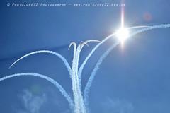 9383 Centenary Split (photozone72) Tags: aviation airshows aircraft airshow canon canon80d canon24105f4l 80d yeovilton yeoviltonairday raf redarrows reds redwhiteblue rafat