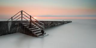 Steps Sunset