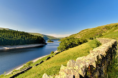 Haweswater, Cumbria, England (vincocamm) Tags: haweswater lakedistrict cumbria green blue walls drystone trees reservoir lake water mountains hills nikon d5500 suuny summer