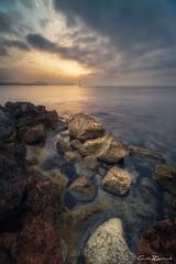 Dawn fail (carlosizquierdovazquez) Tags: sunset dawn amanecer alicante calpe mediterraneo sea mar roca rocas rocs explore a7ii alfa7ii sony water árbol tree agua sun sol
