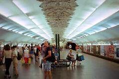 Minska Metro Station (Ігор Кириловський) Tags: c41 135 35mm kyrylovskyy kirilovskiyigor chernivtsi ukraine slr minoltadynax404si minolta afzoom2880mmf3556 film kodakproimage100 уф1x markstudiolab kyiv minskametrostation