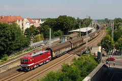 13-7-2018 - Köpenick (berlinger) Tags: berlin deutschland köpenick eisenbahn railways railroad deltarail br143 br243 243931 güterzug freighttrain
