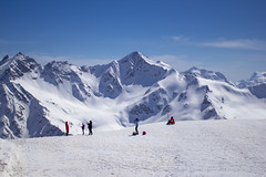 Mir station on mount Elbrus (altitude 3 500 meters above sea level) (*ALLA*) Tags: