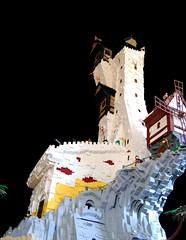 Imperial Castle (ZackM.) Tags: lego pirate castle moc brickworld2018 brickworld topography brolug orphanlug landscape ship imperial outpost tower battle