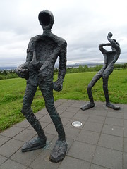 esculturas Museo Perlan Reykjavik Islandia 02 (Rafael Gomez - http://micamara.es) Tags: esculturas museo perlan reykjavik islandia reikiavik city building cite iceland