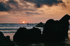 Sunset (jdelrivero) Tags: provincia mar geologia sunset rocas españa barrika costa lugares olas elementos atardecer bizkaia playa geology beach elements places puestadesol sea spain elexalde euskadi es