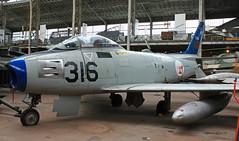 North American F 86F Sabre n° 191-938  ~ 5316 (Aero.passion DBC-1) Tags: musée royal de larmée bruxelles muséedelair airmuseum collection dbc1 david biscove aeropassion avion aircraft aviation plane preserved préservé north american f86 sabre ~ 5316