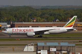 Ethiopian Cargo ET-ARI Boeing 777-F60 cn/42032-1252 @ EBBR / BRU 05-05-2018