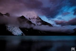 Berg Lake Sunrise
