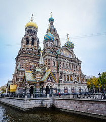 Church of the Savior on Spilled Blood (phuong.sg@gmail.com) Tags: griboedova architecture blood building canal cathedral center central centre christ christian christianity church city cityscape decorated decoration europe hictorical history house landmark old orthodox petersburg religion religious resurrection river russia saint saintpetersburg savior sight sightseeing spilled spilt temple urban view water