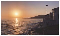 Laguna sunset (Eugene Kogan) Tags: lagunabeach laguna beach socal california ocean sunset postcard hightide