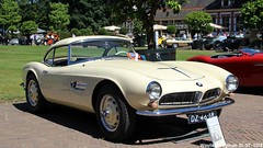 BMW 507 V8 1957 (XBXG) Tags: dz4618 bmw 507 v8 1957 bmw507 coupé coupe concours délégance 2018 paleis het loo apeldoorn nederland holland netherlands paysbas vintage old german classic car auto automobile voiture ancienne allemande germany deutsch duits deutschland
