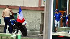 (Jean-Luc Léopoldi) Tags: moto drapeau enfants 14juillet football worldcup torsenu