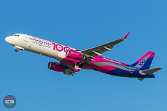 WizzAir A321 (100 Livery) (ferenckobli) Tags: airplane aircraft airliner airport aviation airbus air a321 spotting spotter