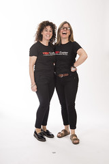 TEDxExeter volunteers Clare Fox and Andrea Veale in the TEDxExeter 2018 Photo Booth (TEDxExeter) Tags: tedxexeter exeter tedx tedtalks ted audience tedxevent speakers talks exeternorthcott northcotttheatre devon crowd inspiring exetercity tedxexeter2017 photoboth photobooth portrait portraitphotography exeterschoolofart england eng