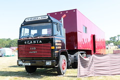 J.S. Searle and Sons 1972 Scania 110 UPX9K Wiston Steam Rally 2018 (davidseall) Tags: js j s searle sons 1972 scania vabis 110 upx9k upx 9k truck lorry tractor unit artic large heavy goods vehicle lgv hgv commercial wiston steam rally fair 2018 super