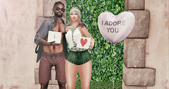 @Revelation , @NativeUrban , @CkElite , @Treized Designs (Sweet Fashion Girl and Boy) Tags: romper revelation madai clothing boy shirt gabriel strap open short native urban lagoon shorts decoration baloon mudhoney heart balloon adore background ck elite secret garden ckelite nativeurban