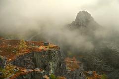 Dinorwic peak (PentlandPirate of the North) Tags: dinorwic slate quarry fog cloud mist dinorwig llanberis gwynedd snowdonia