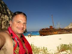 IMG_1189 (SyrianSindibad) Tags: greece zakynthos navagiobeach shipwreckbeach smugglerscove