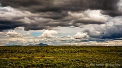 High Desert in Idaho (Matt Barlow Photography) Tags: skyline sky cloudscape clouds mountain outdoor open vast idaho desert landscape