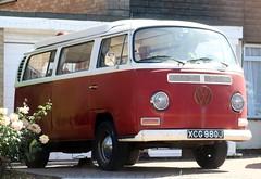 XCG 980J (2) (Nivek.Old.Gold) Tags: 1970 volkswagen danbury camper 1584cc earlybay