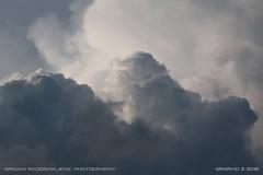 Heavy #1 (srkirad) Tags: sky clouds heavy cumulonimbus dark shadows fluffy thick foamy rainy