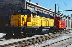 South Shore GP38-2 2006 (Chuck Zeiler) Tags: csssb southshore gp382 2006 railroad emd locomotive michigancity train chuckzeiler chz