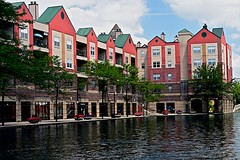 Canal in Indiana (durand clark) Tags: canal apartments indianapolis indiana indianacanal canalwalkindianapolis nikond750