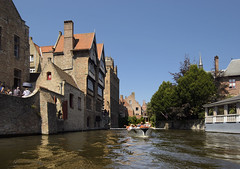 Canal (albireo 2006) Tags: belgium bruges brugge canal boat