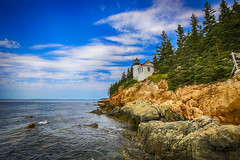 Bass Harbor Lighthouse, Acadia National Park, Maine (rocinante11) Tags: lighthouse acadia nationalpark acadianationalpark maine ocean atlanticocean bassharbor