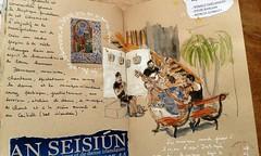 An Seisiún - Mesquer 2018 (bigoudene46) Tags: mesquer2018 anseisiún musique irlandaise musiciens dessinsurlevif sketchinlocation carnettiste carnetdevie exposition bigoudene46