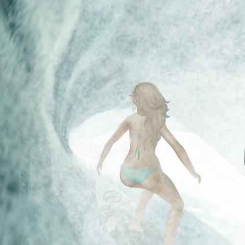 Surfing the gap