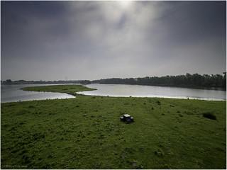 Hoeksche Waard, Oeverlanden