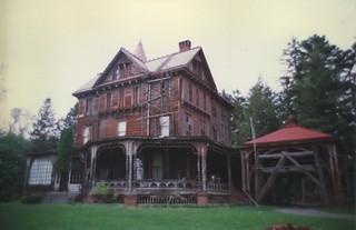 Wilderstein  - 330 Morton Road -  Rhinebeck  New York  -  During Restoration  ca 1990