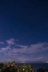 P7214755 (kunmorita) Tags: star 星 海 空 夜空 夜間撮影 sea sky night 夕焼け マジックアワー magic hour 黄昏