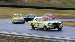 Does SIZE Matter? (1/3) (Jungle Jack Movements (ferroequinologist)) Tags: size matter historic racers group n v8 muscle car masters smsp sydney motorsport park mewett mustang 351 boss 302 fastback goulding mini cooper s beazley cortina gt cobra tilley wilkinson motor racing pass race speed cars hottie track practice pole position times timing hard competition competitive event saloon open wheeler sports racer driver mechanic engine oil petrol build fast faster fastest grid circuit drive helmet marshal starter sponsor number class classic 289