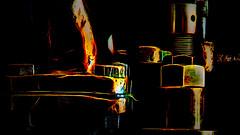 2603aTTS In A New Mechanical Light (foxxyg2) Tags: engineering rail railways locomotives trains brass copper steel yorkshire york nrm nationalrailwaymuseum history le longexposure topazsoftware topaz topazstudio