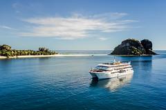 Sacred Princess (scotty-70) Tags: fiji fj boat ship drone dji mavic fijiprincess island water sea pacific beach sacred