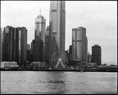 2018-06-19-00052 (qwz) Tags: гонконг hongkong pentax67 sea harbour skyscraper architecture cityscape