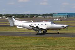 HB-VFM PC12 (Dougie Edmond) Tags: plane airplane aircraft airport prestwick scotland unitedkingdom gb