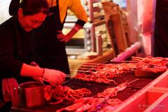 20180616-11-Dark MOFO Winter Feast 2018 squid skewers (Roger T Wong) Tags: 2018 australia darkmofo hobart pw1 princeswharf1 rogertwong sel85f18z sony85mmf18 sonya7iii sonyalpha7iii sonyfe85mmf18 sonyilce7m3 tasmania food night