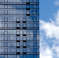 Continuity (nrg_crisis) Tags: building architecture abstractarchitecture sky clouds manhattan nyc continuity