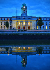 City Hall. (MSGS4) Tags: cork ireland city hall building architecture river reflection
