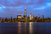 New York Cityscape (_gate_) Tags: new york jersey city usa skyline cityscape night blue hour wtc one downtown manhattan