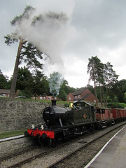(jbtevans) Tags: dean forest railway steam loco locomotive preserved engine train heritage parkend lydney junction norchard severn wye western midland 5541 gwr small prairie tank collett