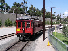 PE 1058 Waterfront Red Car Line (jsmatlak) Tags: los angeles san pedro port phl red car line railroad train trolley tram