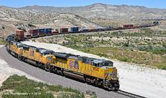 5 out of 6 Ain't Bad (GRNDMND) Tags: trains railroads unionpacific up locomtive emd sd70ace sd70m cajonpass pinelodge cajon california