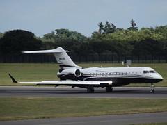 M-ASRI Global Express-BD-700-1A10 YYA Aviation Ltd (Aircaft @ Gloucestershire Airport By James) Tags: luton airport masri global expressbd7001a10 yya aviation ltd bizjet eggw james lloyds