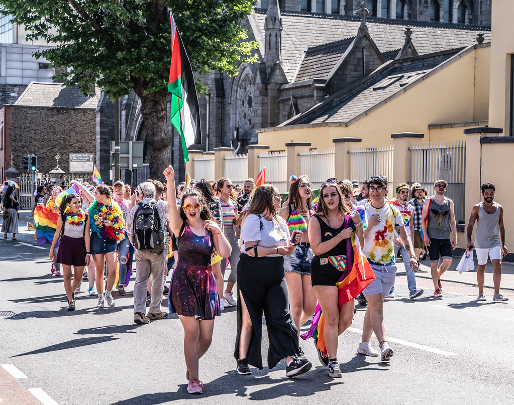 ABOUT SIXTY THOUSAND TOOK PART IN THE DUBLIN LGBTI+ PARADE TODAY[ SATURDAY 30 JUNE 2018]-141808
