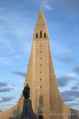 Reykjavik - Hallgrimskirkja (Rolandito.) Tags: europe europa island iceland ísland reykjavik hallgrimskirkja church